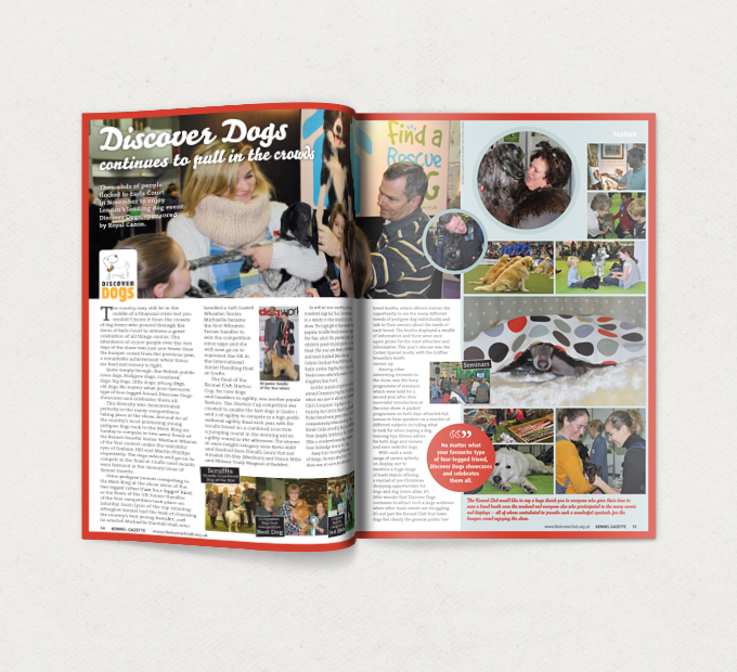 <b>Kennel Gazette</b> <br/>Magazine and Brand Communication