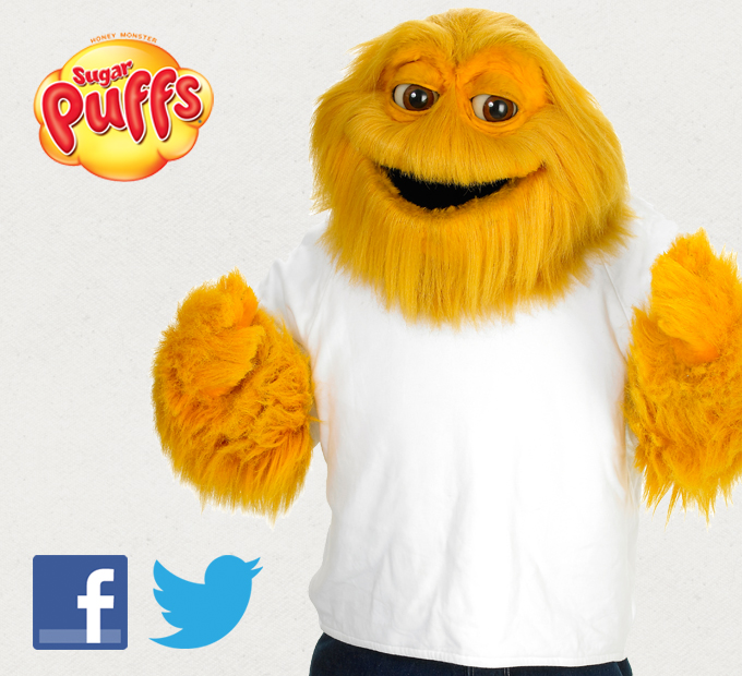 <b>Sugar Puffs</b> <br />Social Media Management