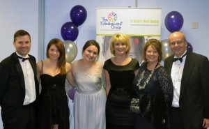 Some of the CW team (L-R Hayley, Alison, Mandy, Mel & Nigel) with Greg, PR & Communications Manager for The Kaleidoscope Plus Group (far left)