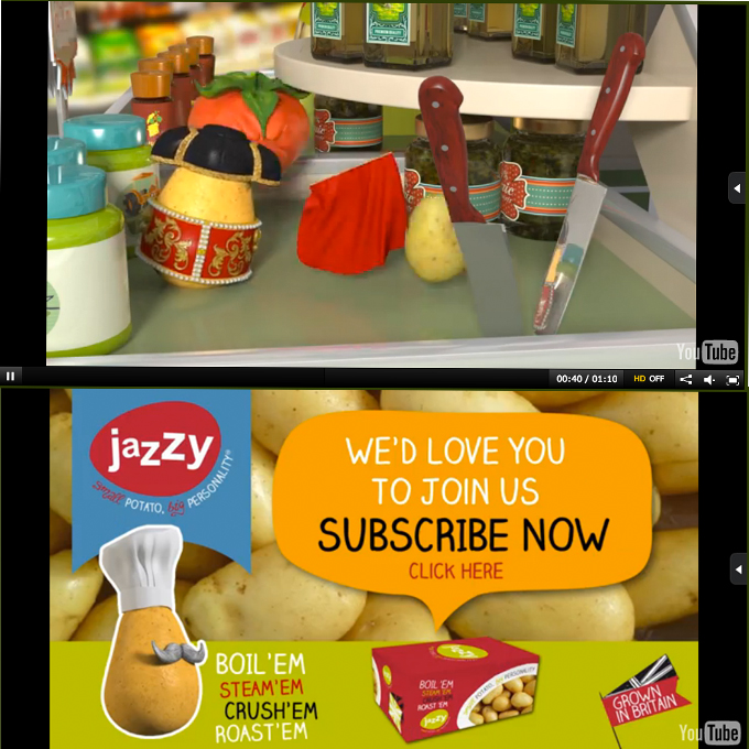 <b>Jazzy Potato</b> <br />Animation